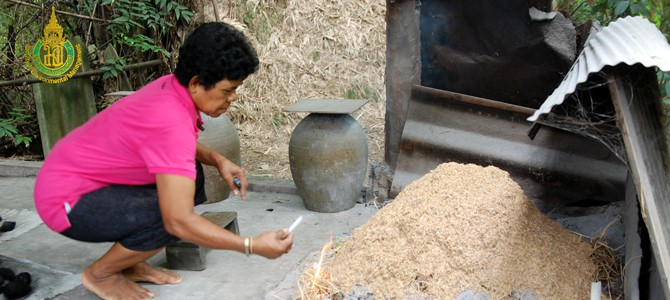 VDO of informal education: Charcoal making interpretation