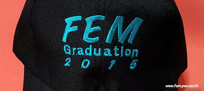 Congratulations to FEM new graduated students