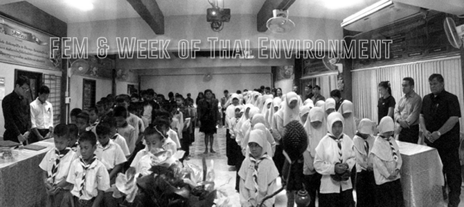 FEM & Week of Thai Environment